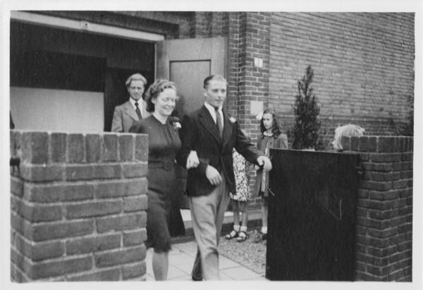 Gerdina Jacoba Hendrika van Kooi en Nicolaas Hendrik Heesemans
