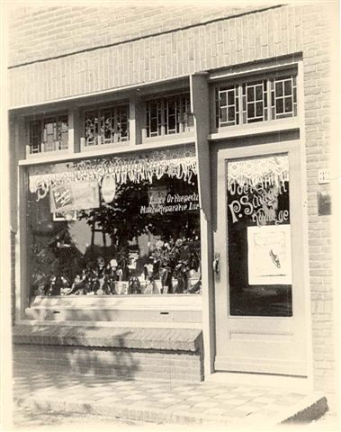 De schoenwinkel van Pieter Schagen in Soest