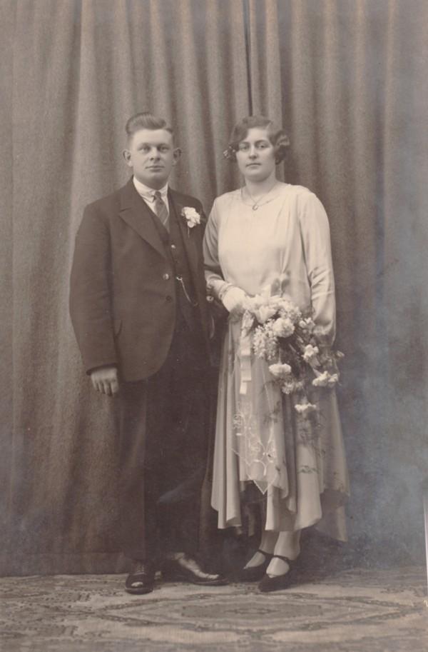 Willem Stroo en Tijmetje Limper trouwfoto