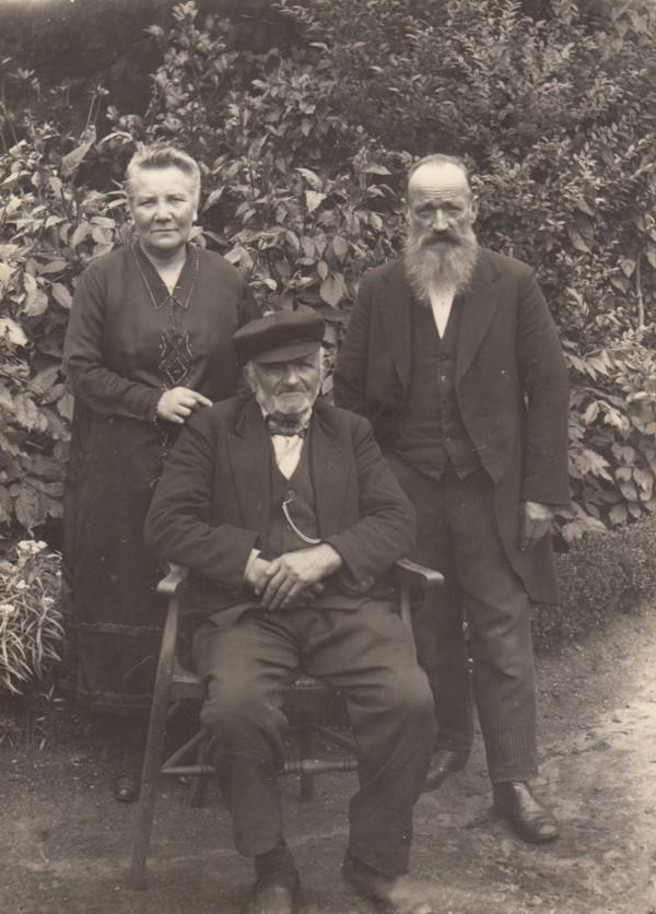 Hendrika van der Woord, Nicolaas Hornsveld en Hendrik Hornsveld
