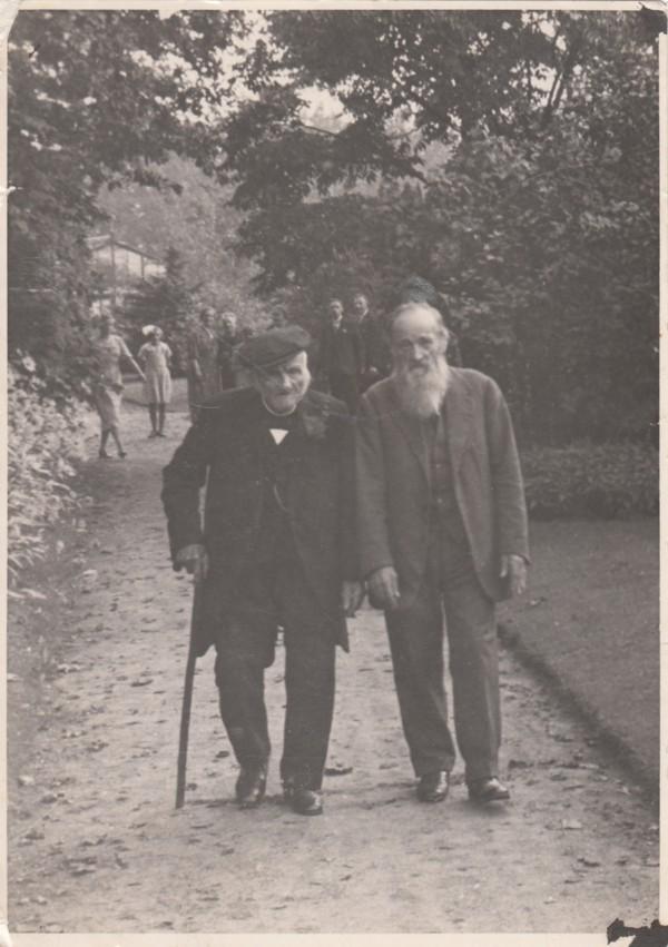 Foto  Nicolaas Hornsveld en Hendrik Hornsveld