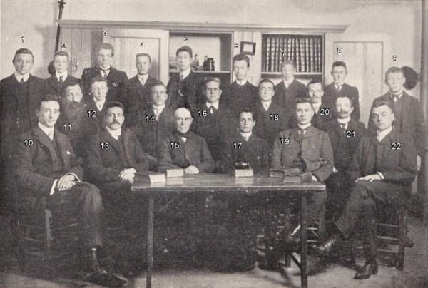 Gereformeerde Jongelingsvereniging uit Baarn (oude garde)