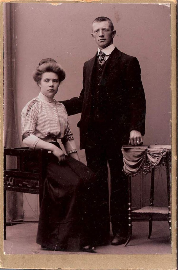 Matthijs Ravenhorst en Hendrina Catharina van Lent