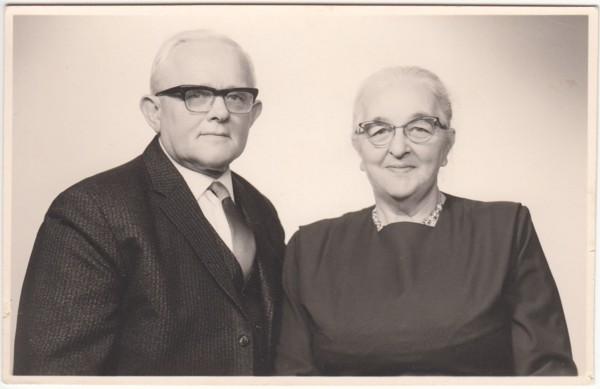 Johannes Wynia en Jantje Hoekstra
