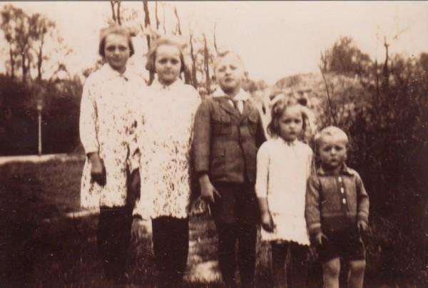 Geiske, Grietje, Fetze, Meintje en Jan Wynia