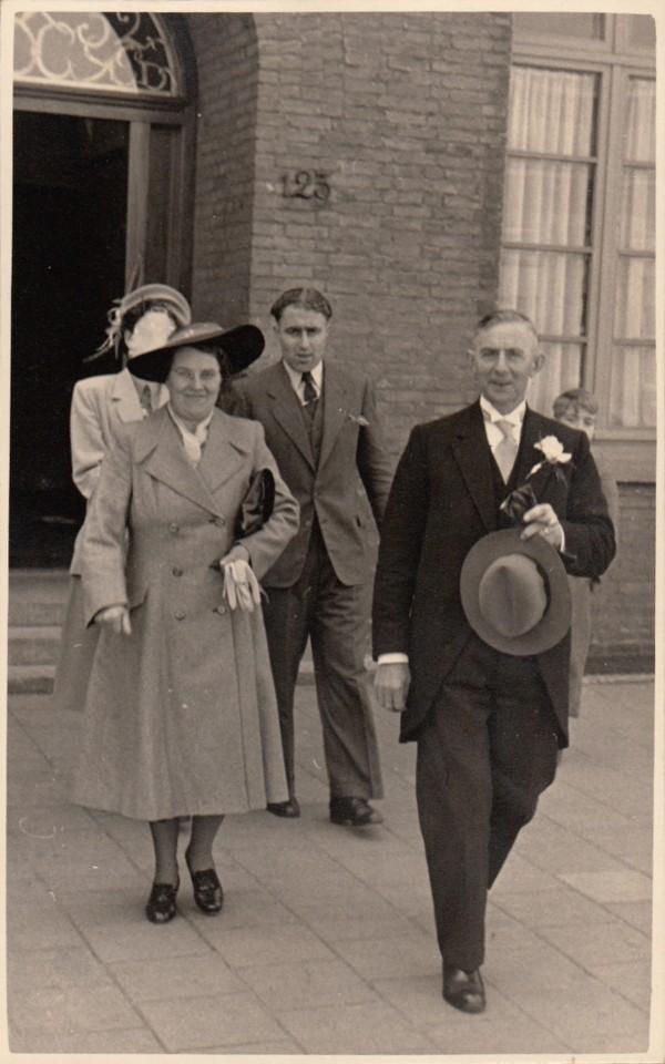 Wilhelmina Petronella Messing en Cornelis Wilhelmus Vermeulen