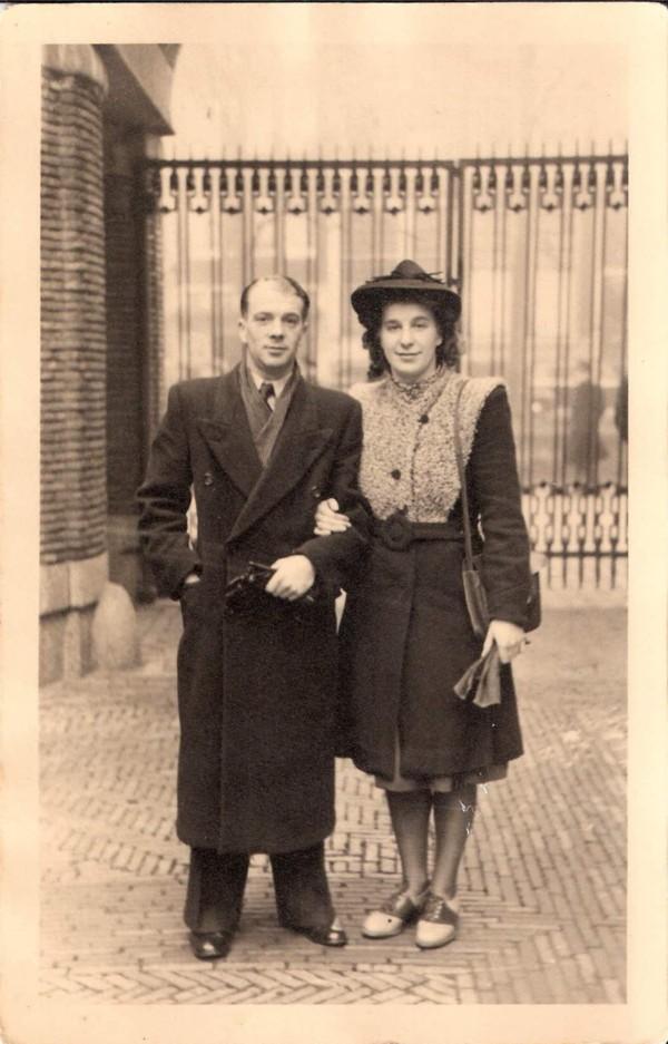 Foto  Jacobus Ravenhorst en Geertrui Johanna Philipsen trouwfoto