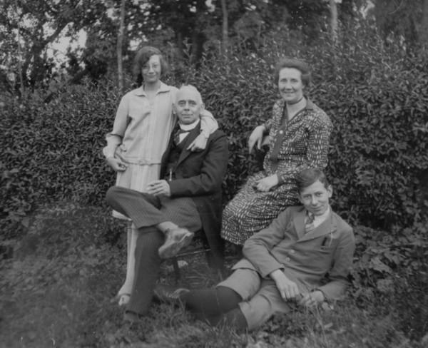Helena Vermaat, Johan Gerrit Hendrik Vermaat, Dina Stein en Jan Andre Johan Vermaat
