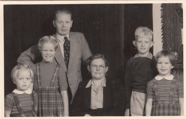 Gezin Jacobus Groeneveld en Hendrika Koster