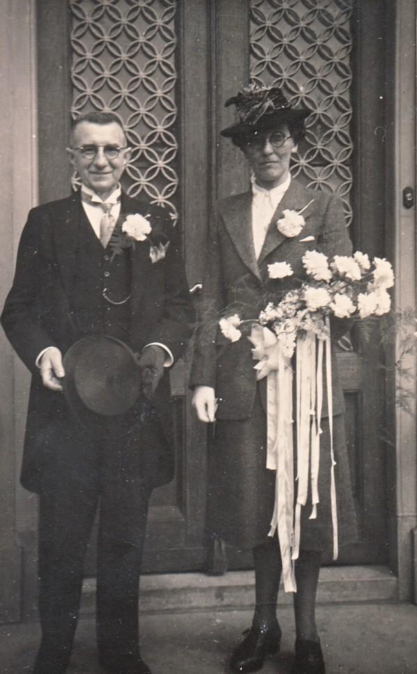 Johannes Kindervater en Charlotte Elisabeth van Klaarwater