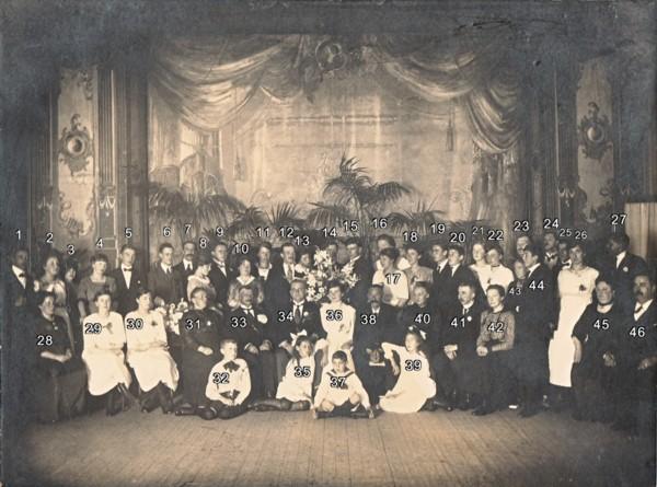 Huwelijk Johannes Looze en Anna Jacoba Maria van Klaarwater