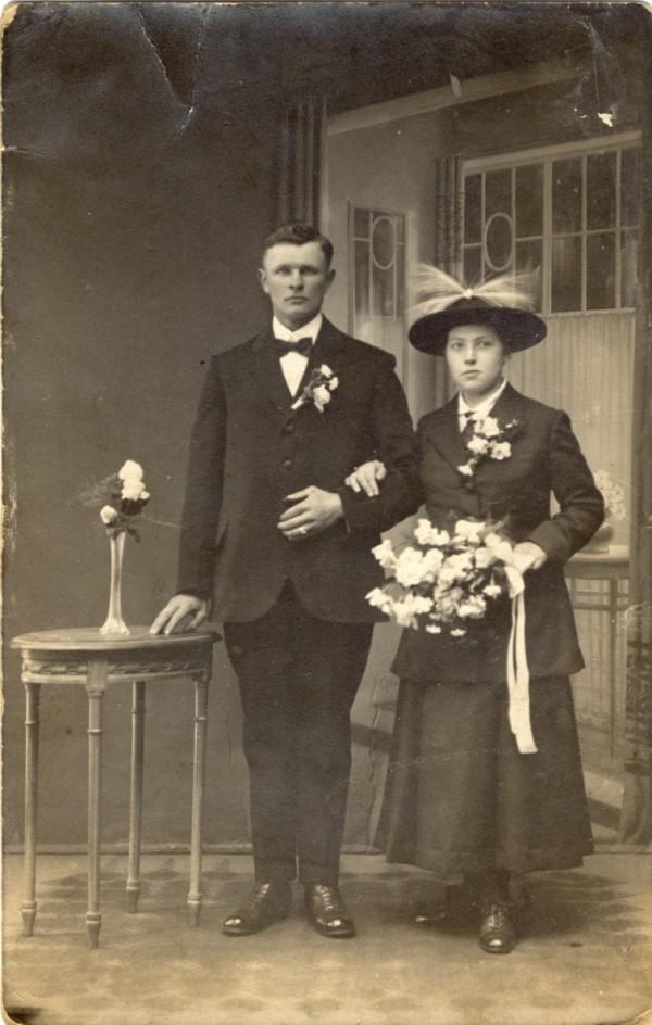 Nicolaas Schoonderbeek en Engelina Johanna Elisabeth van Dieën