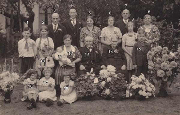 Jacob van Maanen en Gijsbertje Bosveld 50 jaar getrouwd