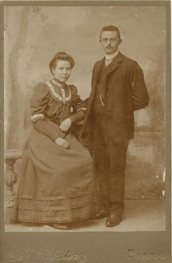 Geertruida Lammertse en Dirk van den Broek