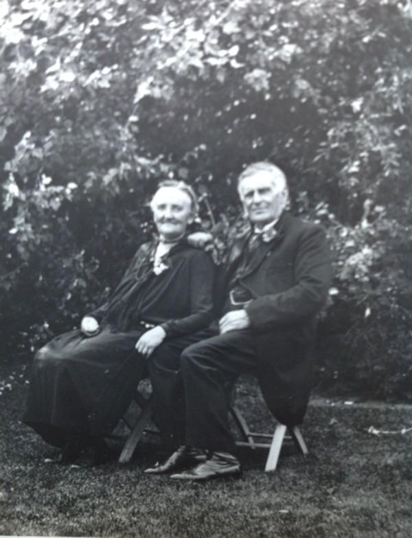 Aaltje van Scherpenzeel en Willem Frederik Geijsendorpher