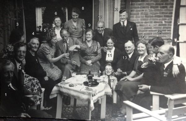 Foto  Familieportret Geijsendorpher-Snabel