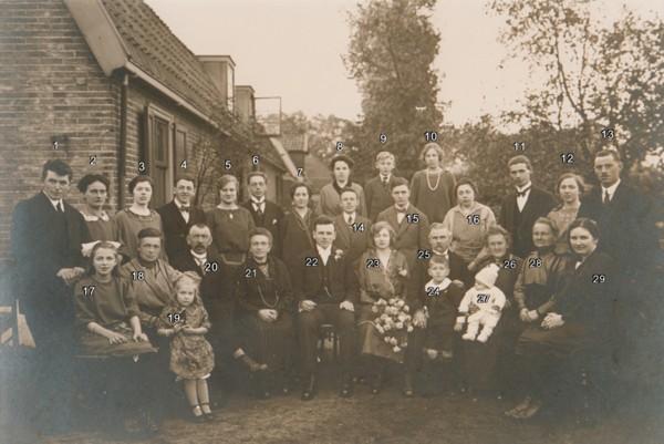 Rutger Willem Johannes Meijer en Jannetje van de Meent, trouwfoto