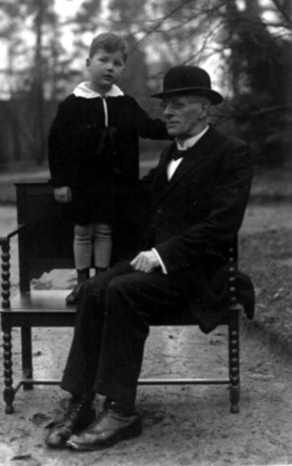 Johan Radstok en Marinus Marinus van der Woord