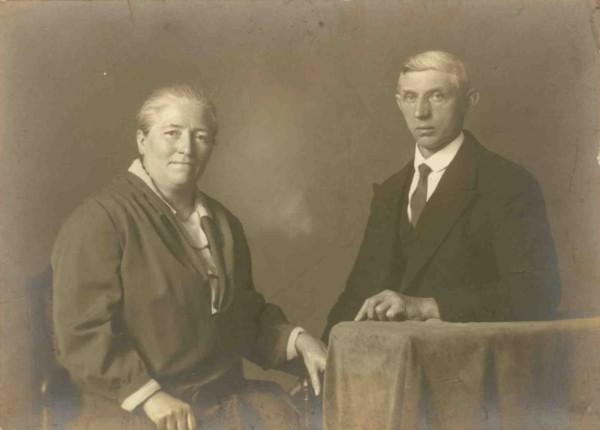 Hendrika Bakkernes en Cornelis Koudijs