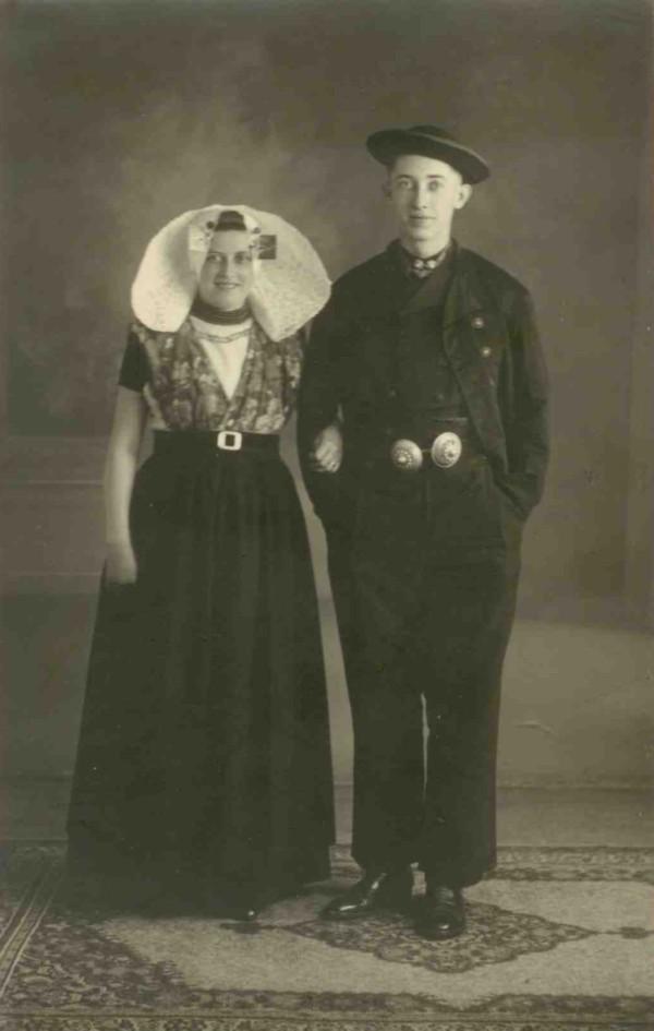 Trijntje Overwijk en Johannes Koudijs