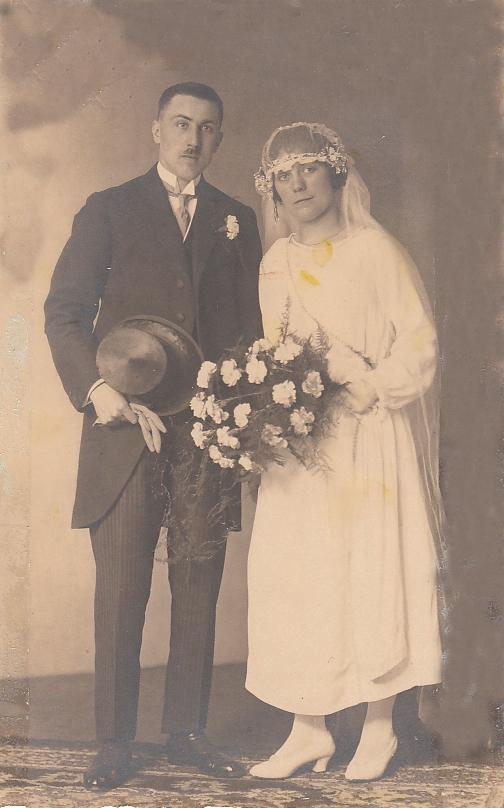 Cornelis Warren en Julia van Laar