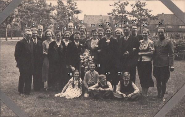 Johannes Gerrit van de Pol en Maria Janna de Zoete trouwfoto