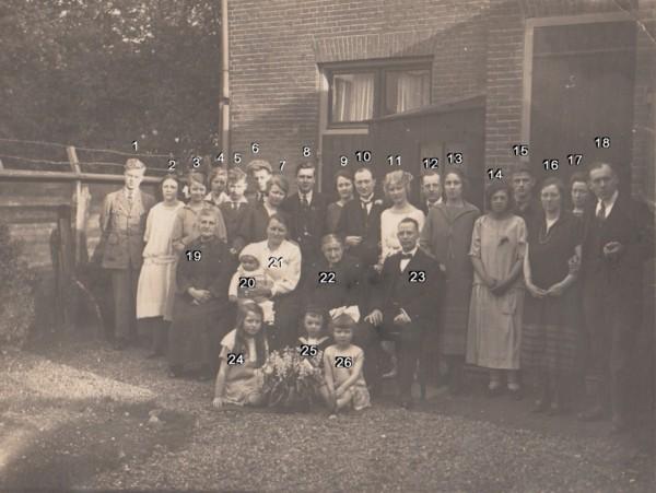 Johannes Zandvoort en Alida Boelens, huwelijk