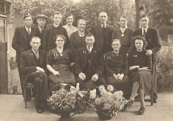 Familieportret met Pieter Achterberg