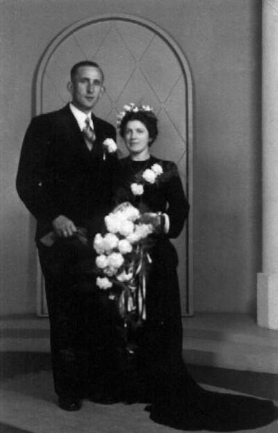 Gijsbert van Twillert en Cornelia Hol trouwfoto