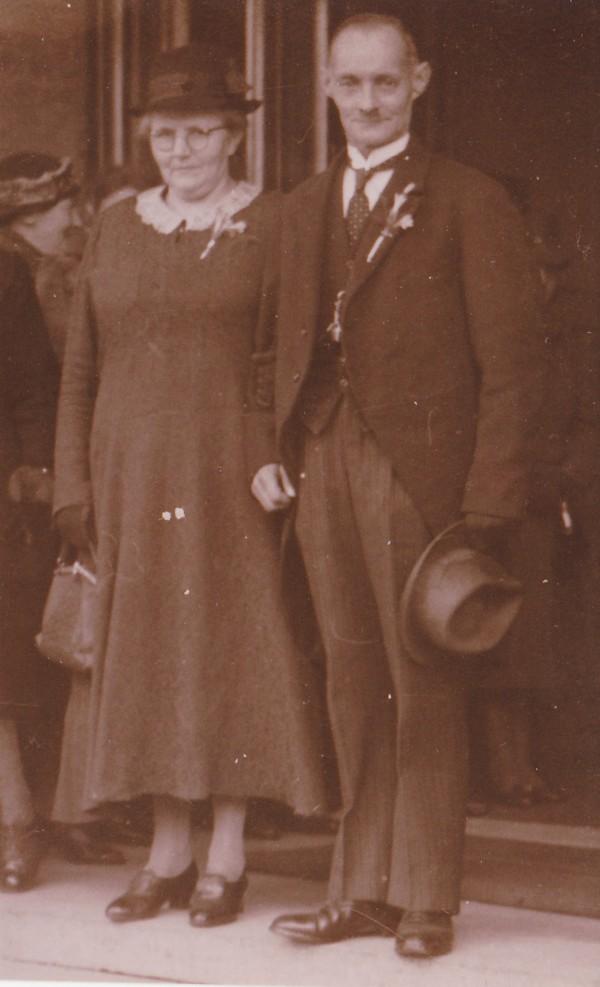 Christina van de Beek en Hendrik Mooij