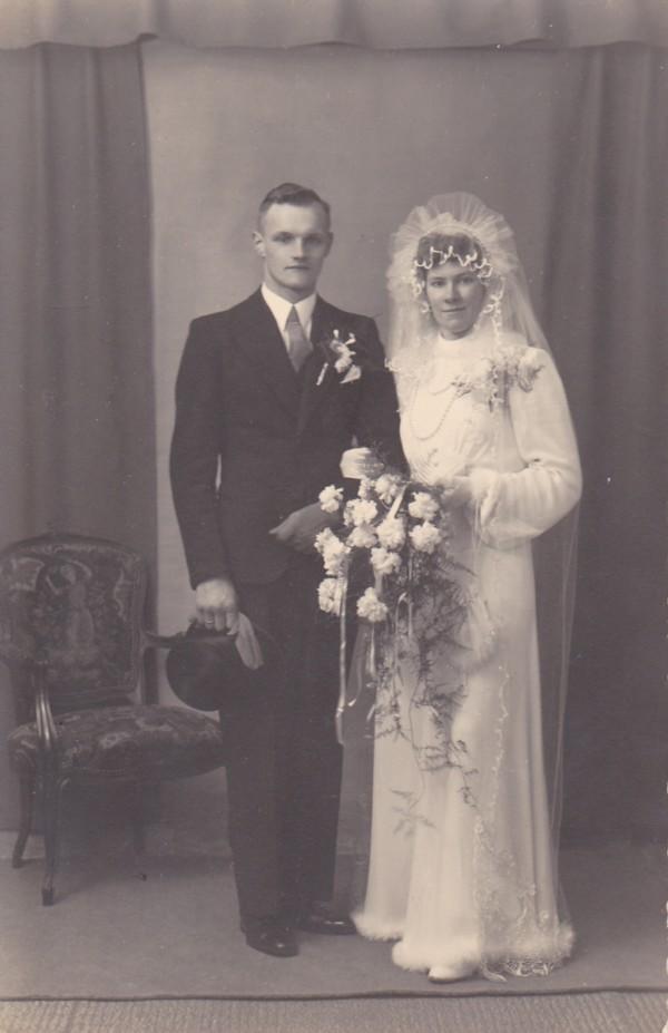 Hendrik Mooij en Hendrikje van der Laan trouwfoto
