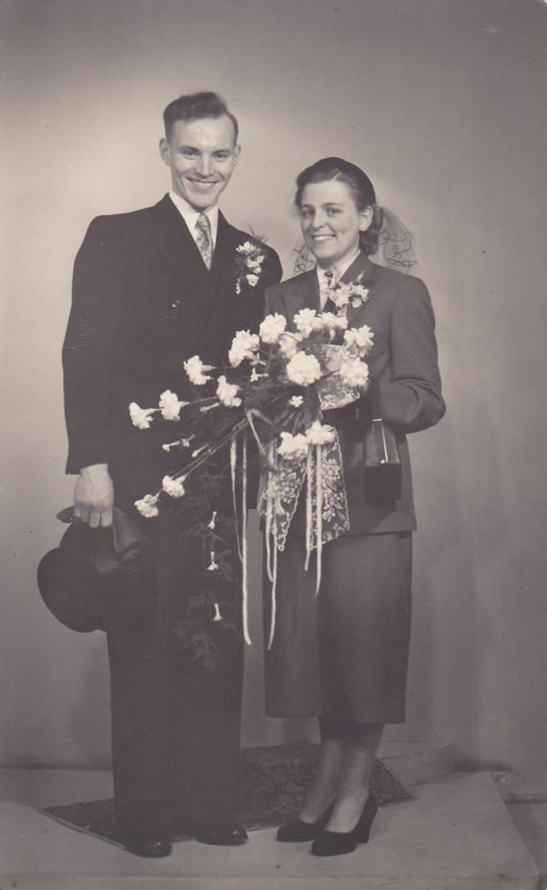 Steven Mooij en Maria Huisman trouwfoto