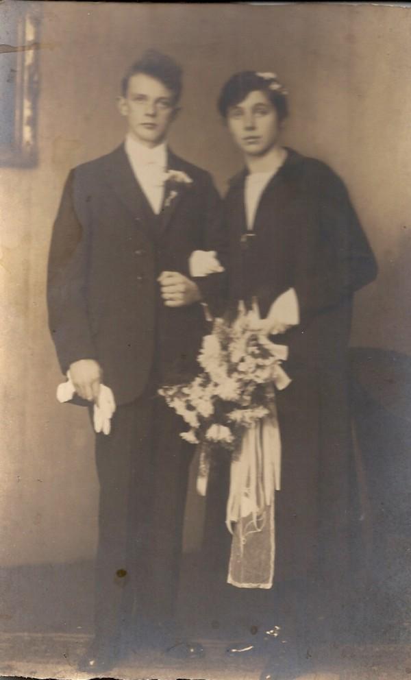 Hendrik Peter van Klingeren en Petronella Adriaantje Verleer