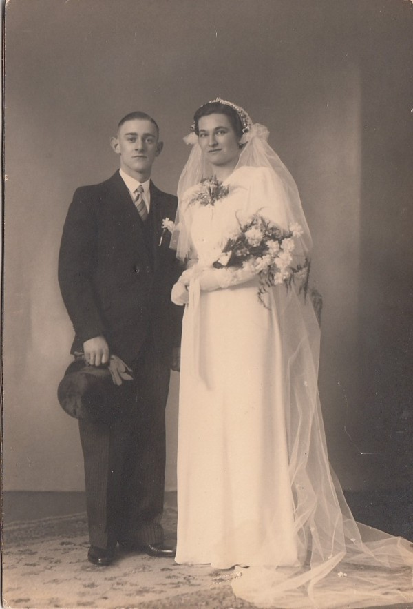 Foto  Gerrit van de Bovenkamp en Cornelia van den Heuvel