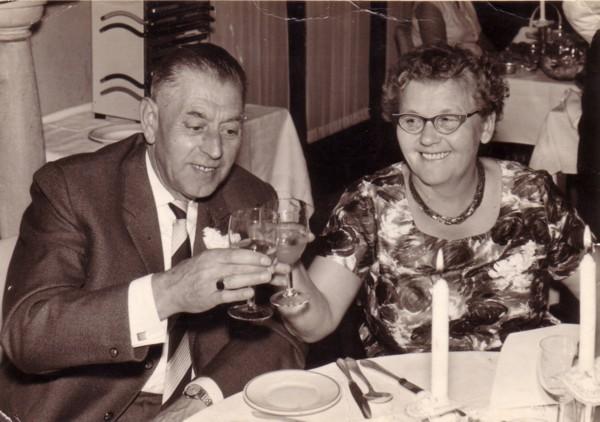 Mathijs de Ruiter en Alida Radstok
