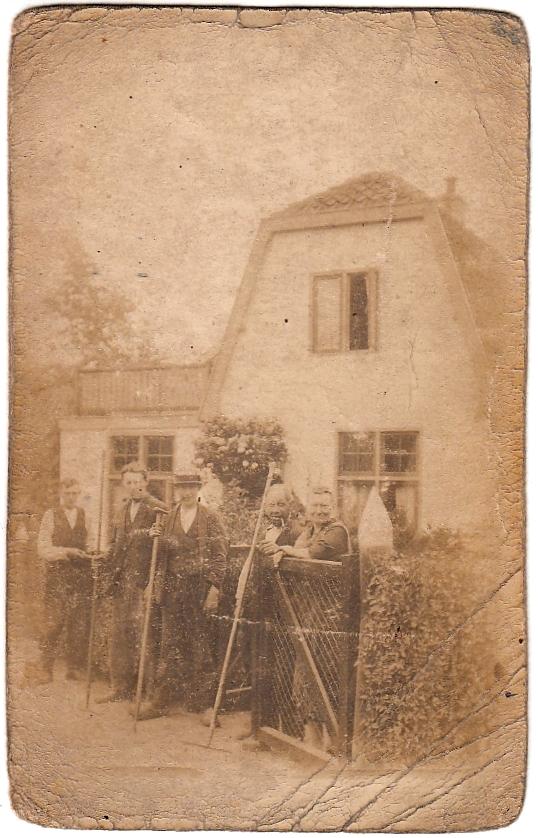 Gerrit Dieffenbach en Elisabeth Broers met zoons