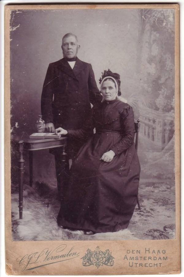 Berend van der Horst en Elisabeth van der Poll