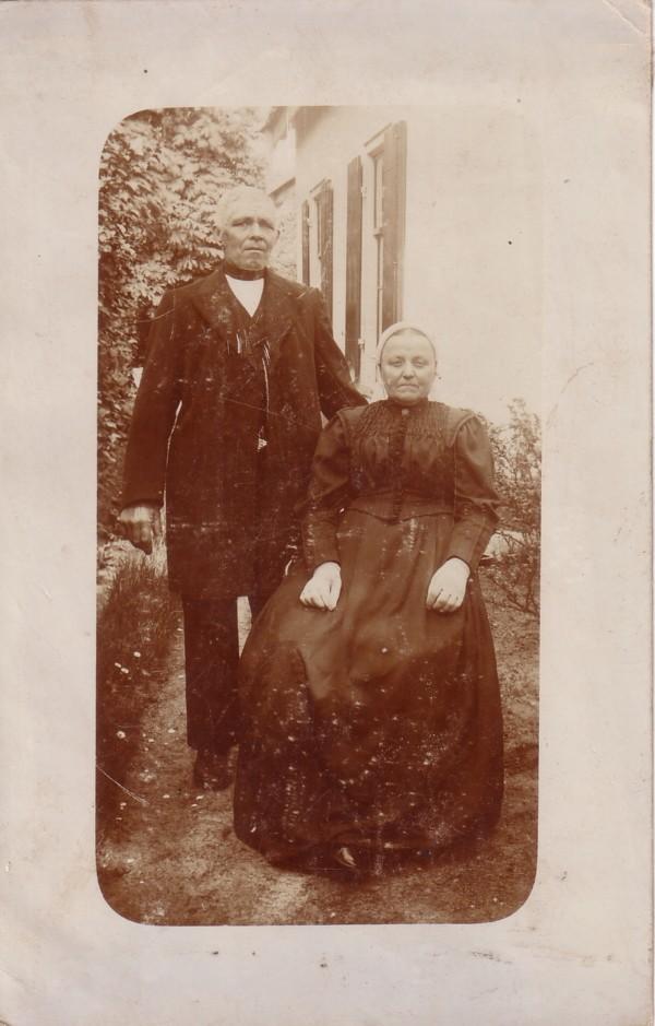Berend van der Horst en waarschijnlijk Elisabeth van der Poll