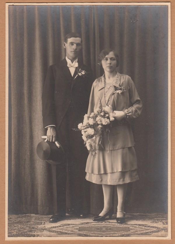 Evert Kooi en Herremijntje van de Meent trouwfoto
