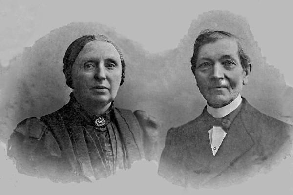 Foto  Suzanna den Ouden en Jacobus Buitink