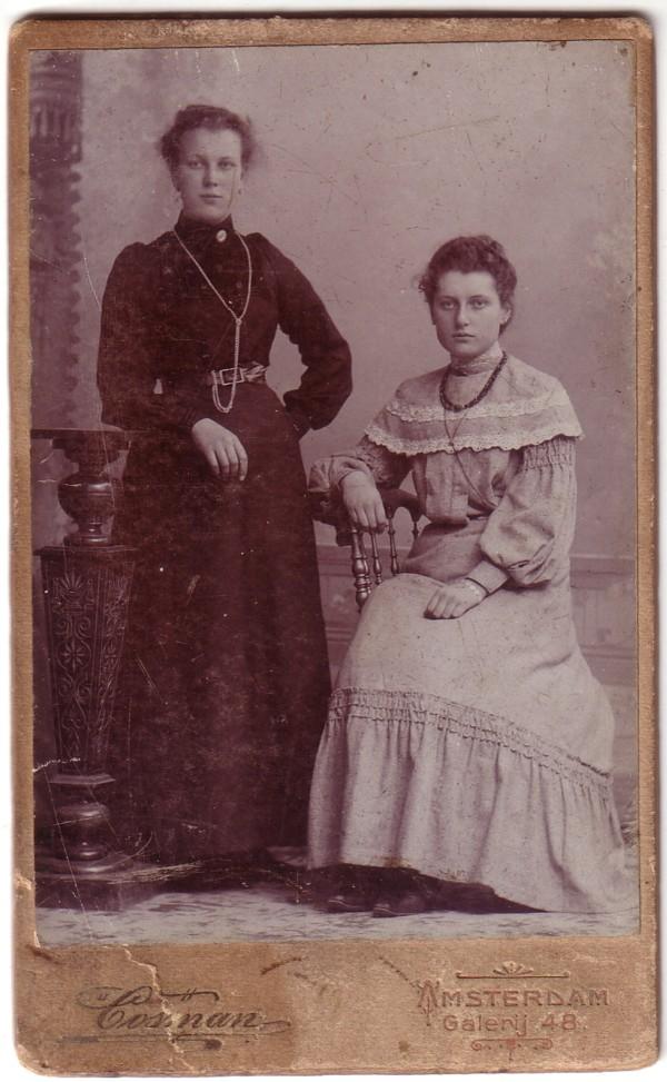 Cornelia Snijder en Sjoerdina Brolman