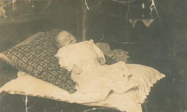 Gerrit van Maanen na zijn overlijden