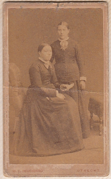 Gijsbertje Bosveld en onbekende dame