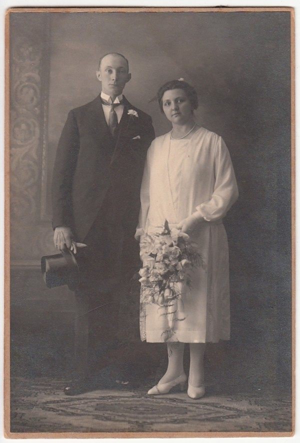 Willem Heetmaijer en Aaltje van Maanen trouwfoto
