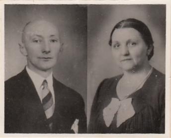Foto  Willem Heetmaijer en Aaltje van Maanen