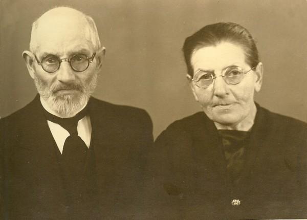 Cornelis op 't Land en Cornelia Houter