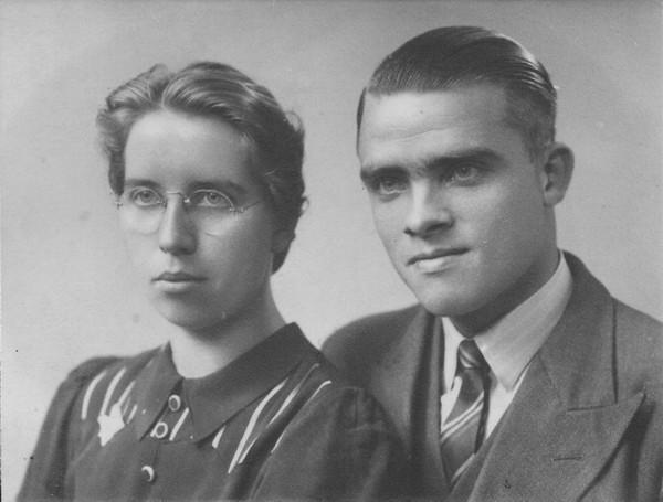 Trijntje Dijkstra en Johan Anton Lodder verloving