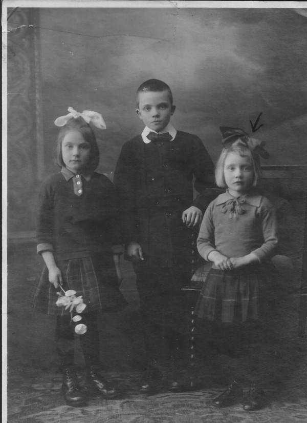 Foto  Cornelia Lodder, Johan Anton Lodder en Hendriena Lodder