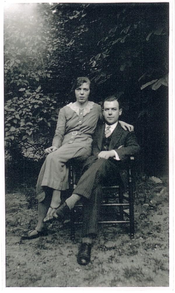 Elisabeth van der Horst en Antoni Lambertus Lammers verloving.