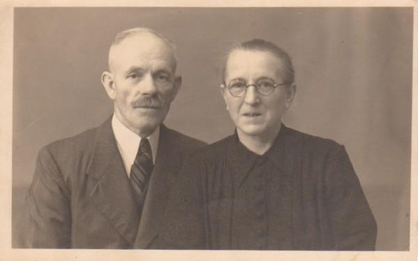 Gerrit Willem van Rhee en Gosina Drost